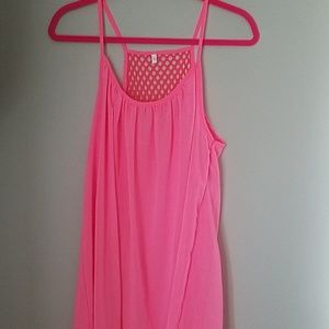 Pink Swimsuit Cover Up